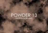 Free Powder Photoshop Brushes 13