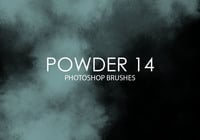 Free Powder Photoshop Brushes 14