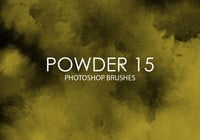 Free Powder Photoshop Brushes 15