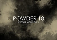 Free Powder Photoshop Brushes 18