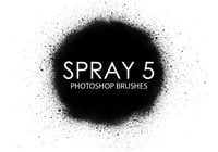 Escovas gratuitas do photoshop spray 5