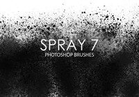 Brosses gratuites photoshop spray 7