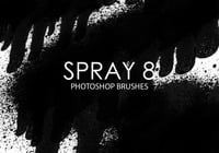 Free Spray Photoshop Brushes 8