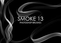 Brosses gratuites Photoshop Smoke 13