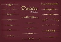 20 Divider Ps Brushes abr. vol.7