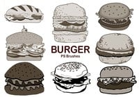 20 Burger PS Brushes abr. Vol.5