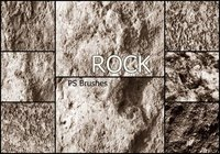 20 Rock Texture PS Borstels abr vol.17