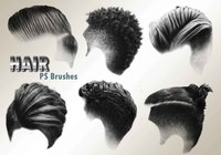 20 Hair Male PS Brushes abr. vol.3