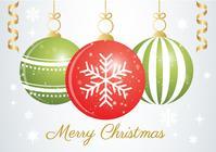 Fondo del ornamento de la Navidad