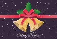 Christmas PSD Bells Illustration