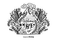 Hand-drawn-welcome-home-lettering-psd-photoshop-psds