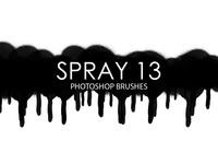Free Spray Photoshop Brushes 13