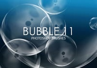 Free Bubble Pinceles para Photoshop 11