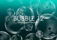 Free Bubble Photoshop Brushes 12