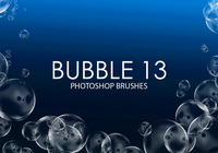 Gratis Bubble Photoshop Borstar 13