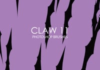 Gratis Claw Photoshop Borstels 11