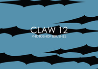 Gratis Claw Photoshop Borstels 12