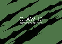 Free claw photoshop bürsten 13