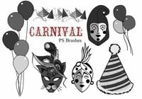 20 Carnival brushes vol.8 Preview