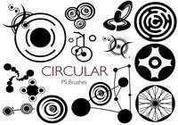 20 Circular PS Brushes abr. Vol.1