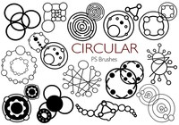20 Circular PS Brushes abr. Vol.2
