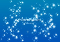 20 Bubbles d'eau PS Brushes abr.Vol.1