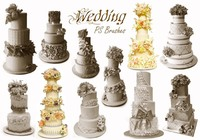20 Wedding PS Brushes abr.vol.8