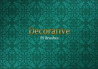 20 Decorative Tile PS Brushes abr. Vol.1