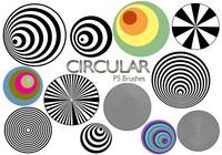 20 brosses circulaires PS abr. Vol.3