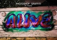 20 Graffiti PS Brushes abr. Vol.2