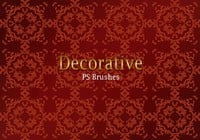 20 Decorative Tile PS Brushes abr. Vol.5