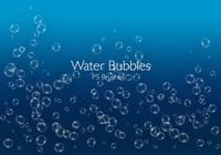20 Bubbles d'eau PS Brushes abr.Vol.6