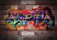 20 aphabet Graffiti PS Brushes ABR. Vol.3