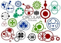 20 Circular PS Brushes abr. Vol.4