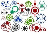 20 brosses circulaires PS abr. Vol.4