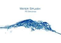 20 Water Splash PS Brushes abr. Vol.2