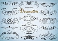 20 Decorative PS Brushes abr. Vol.3