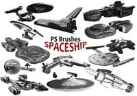 20 Spaceship PS Brushes abr. Vol.3