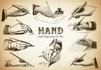 20 Hand PS Brushes abr.Vol.6
