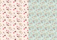 Pastel Plants Patterns