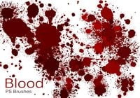 20 Blood Splatter PS Borstels abr vol.4