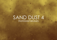 Free Sand Dust Photoshop Brushes 4
