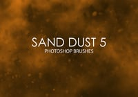 Brosses Gratuites de Photoshop Sand Dust 5