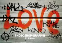20 Graffiti PS Brushes abr. Vol.4
