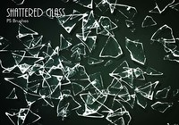 20 Shattered Glass PS Brushes abr.vol.6