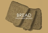 Free Bread Photoshop Brushes