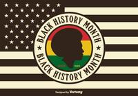 USA Black History Month PSD Background