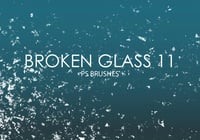 Free Broken Glass Photoshop Bürsten 11