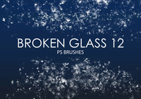 Free Broken Glass Photoshop Brushes 12