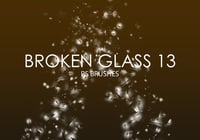 Free Broken Glass Photoshop Brushes 13